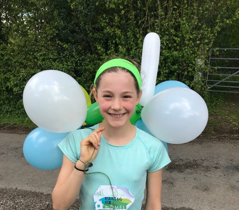 11-year-old fundraising champion raises enough to reunite a family