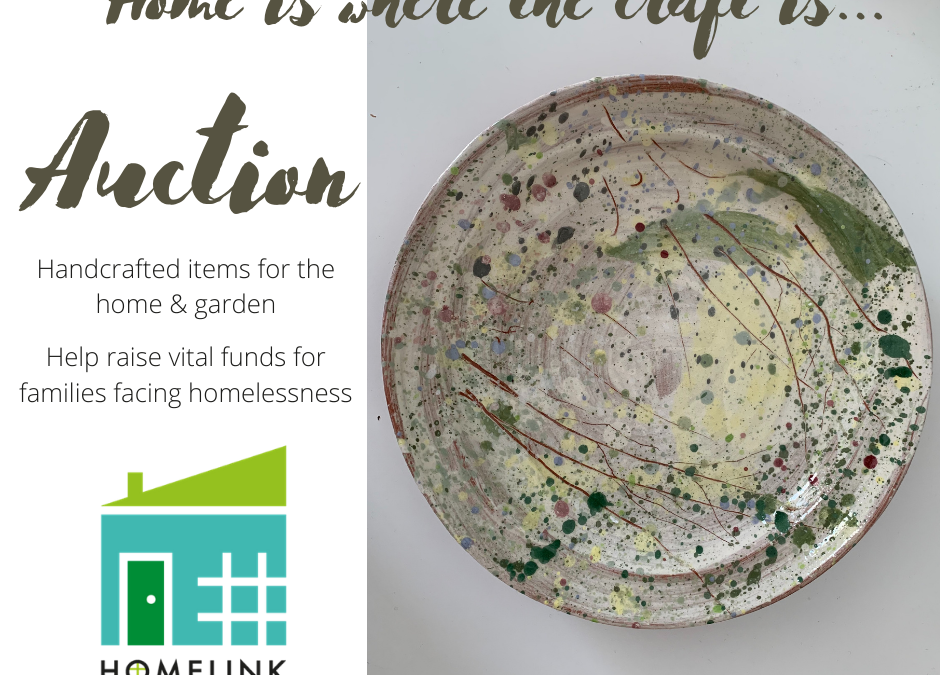 HOMELINK craft auction raises £5,842 for local families